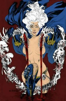 QUEEN LADY DEATH by lostlove31