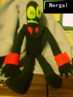 Nergal Plushie by ShadowStanEnvy