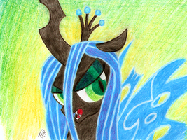 Queen Chrysalis by Stingray-24