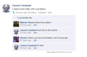 Dragon Age Facebook: Leonar's Problem by Leonar-Cousland