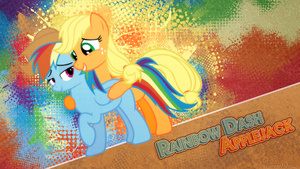 Appledash Halftone Splash by Paradigm-Zero