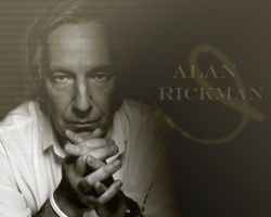 Rickman by PrincessofMadness