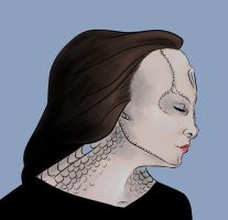 Cardassian Girl by baykinz