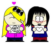 showing our drawings :3 by LizaxCartman