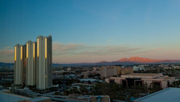 Veiw from the MGM, Las Vegas by imageguy