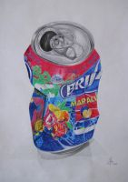 Colour pencil hyper realism by margaridavinhais