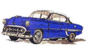 1953 Chevy BelAire by zekesgraphics