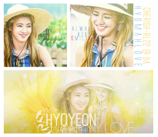 [24.7.2014] ~HYOYEON YOU ARE MY LOVE~ by cherish-rl22