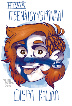 Happy independence day Finland! by Milllis
