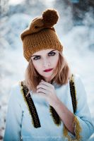 winter portrait II by Basistka