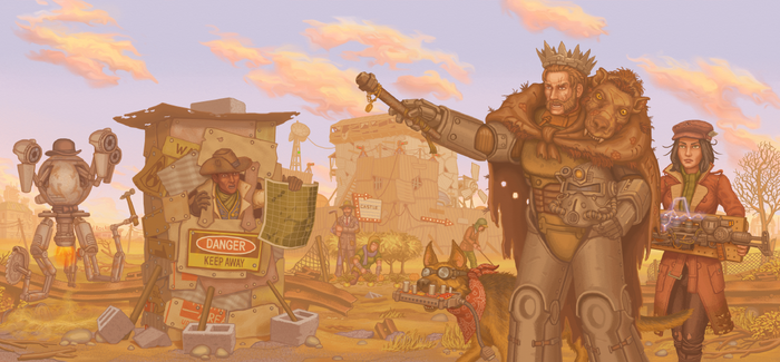 Fallout 4:Post-nuclear feudal lord by a20t43c