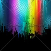 Gradient Paint Splashes by kingofvectors