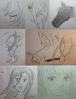 some sketches by SunnyTwix