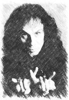 Ronnie James Dio by mikkha76