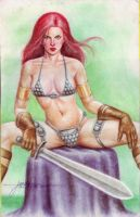 RED SONJA by JUN DE FELIPE  (09222015)A by rodelsm21