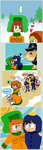 South Park - K2 + Cryle cluster of classic styles by Cloud-Kitsune