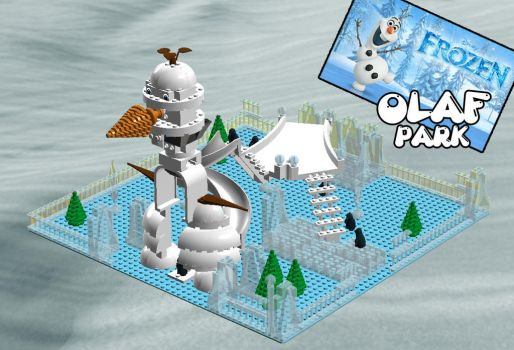 LEGO IDEAS: FROZEN OLAF PARK by MutanerdA