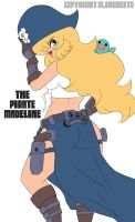 THE PIRATE MADELINE by Randommode