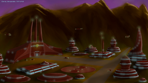 Kzinti Homeworld by Koruk