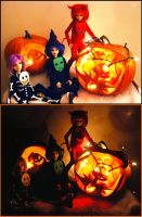 Happy Halloween by FilthyWarumono