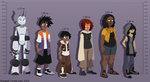 OC Height Chart by Rubilight