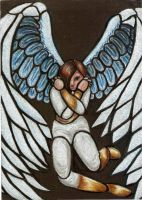 Angel trapped in glass by SRSC-kenny