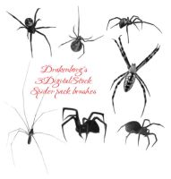 Spider brush pack by 3DigitalStock