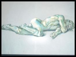 Sleeping Nude by slipknotcrow