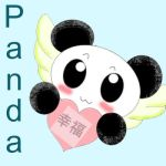 Happiness Panda by EclispeFlower