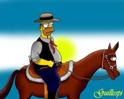 homero argentino by guilleapi