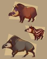 World Tapir Day by shoomlah