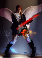 Rocks Angel up2 by Carriel