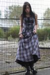 Plaid Dress Stock by BlankStock