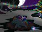 A Romantic Evening Outside by RainbowDashie