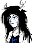 smug vriska by queen-of-spew