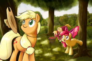 Apple Family Moment by alskylark
