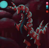 Scolipede - Palette Challenge by Rabid-Fangirl212