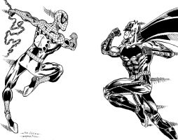 SPIDEY AND BATMAN FOR LOGIE #2 by FanBoy67