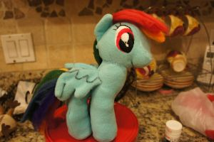 Rainbow Dash Plush FOR SALE by LordBoop