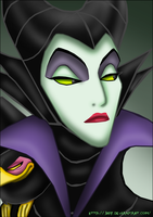 The mistress of all evil by JaycaChan