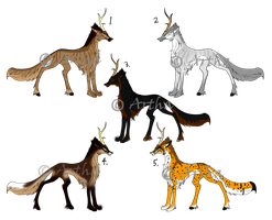 Aericornu Adopts - CLOSED by Artha-Demon