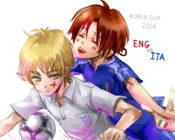 APH_World cup 2014 ENG_VS_ITA by Armelia
