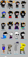 homestuck according to my cousin by jesse-anime