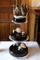 Our wedding cake by Claudia008