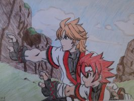 desenhos TH JIN and LUCIAN 2 by NEOcraver