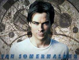 Ian Somerhalder by ToriaChernenko