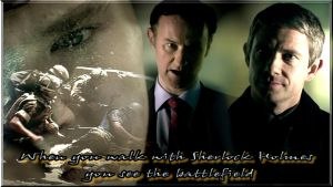 When you walk with Sherlock Holmes..... by Into-Dark