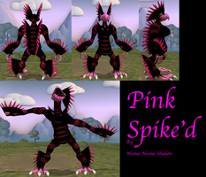 Pink Spike'd Reference by Numa-Numa-Shadow