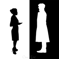 The Woman and The Detective by CircusMonsters