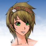 Anime Girl by Abrahans